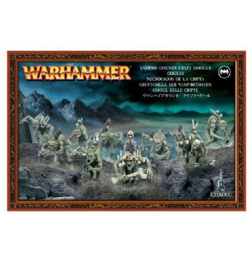 Games Workshop Warhammer Vampire Counts Crypt Ghouls 91-12